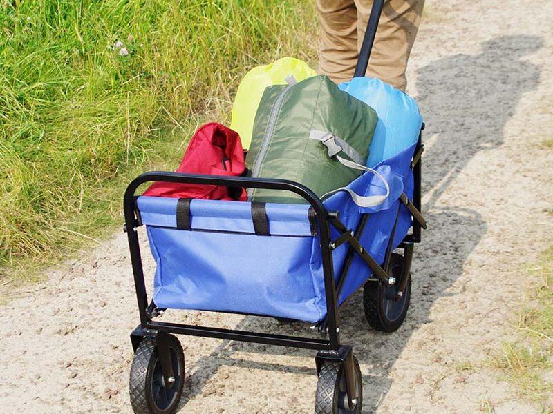 荷物運搬が楽なキャリーワゴン