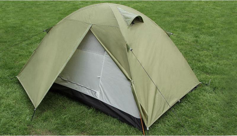 二重構造テント